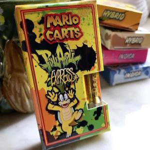 Mario Carts Pineapple Express