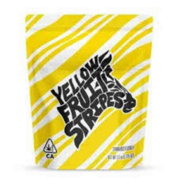 Yellow Fruit Stripes Berner Cookies