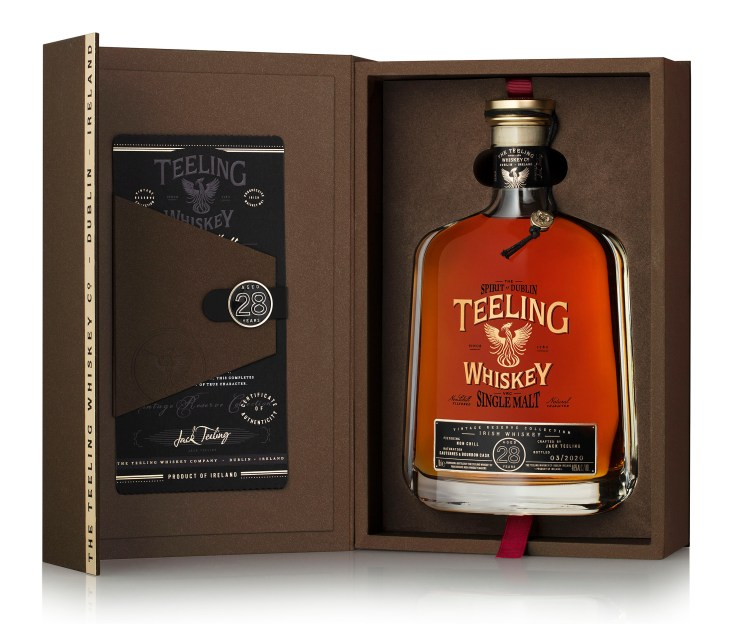 Teeling 28 Year Old_Open box