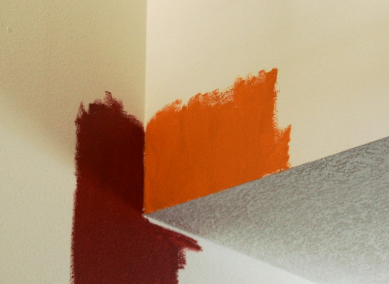 Although this is not exactly what the colors look like, this picture represents them the best. (Click photo to enlarge.)
