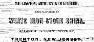Millington, Astbury and Colclough Ad