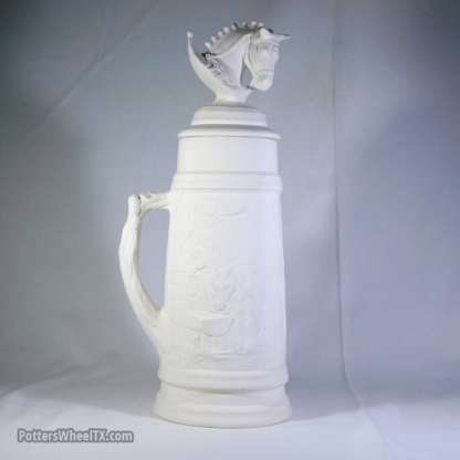 Clydesdale Stein - with lid