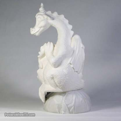Dragon Shelf-Sitter - Left View
