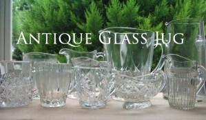 Antique Glass Jug