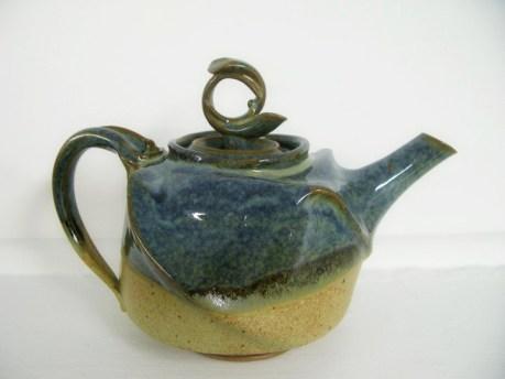 zeller & mat altered teapot
