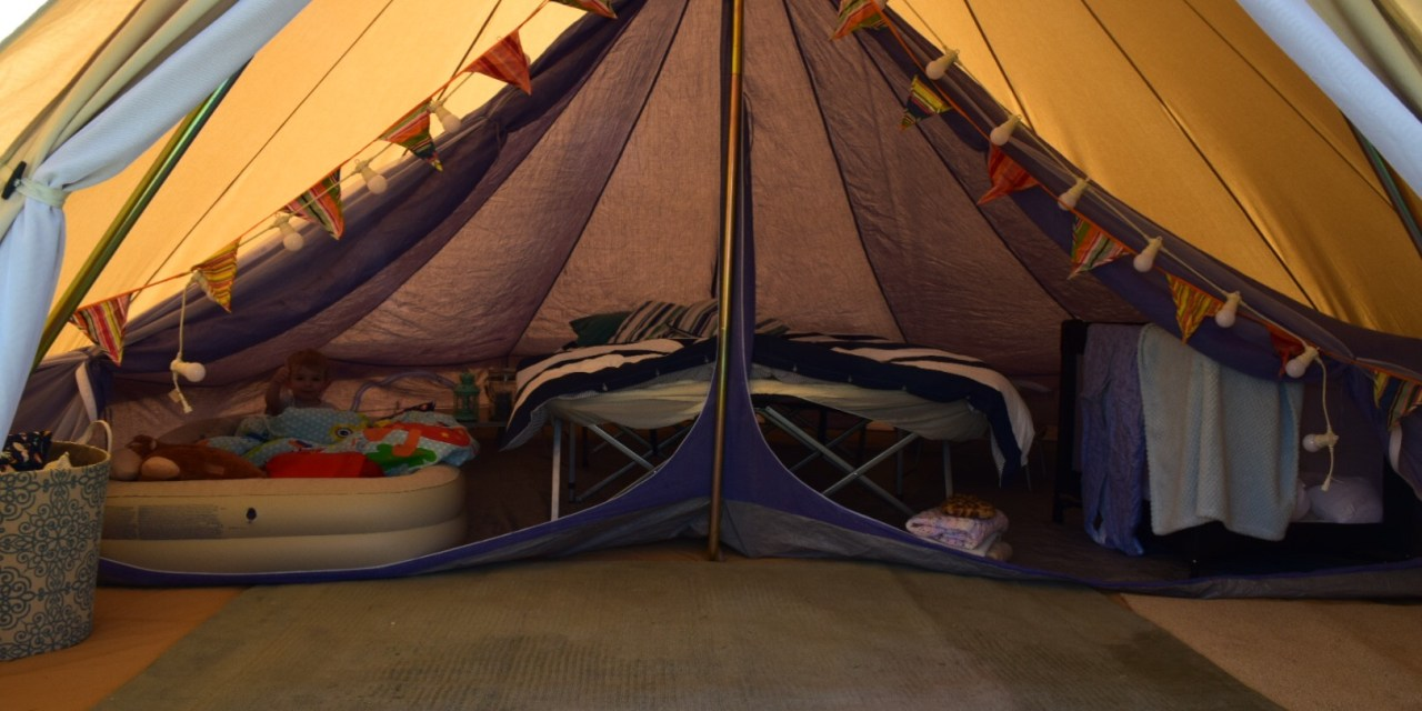 Dying a Bell Tent Inner