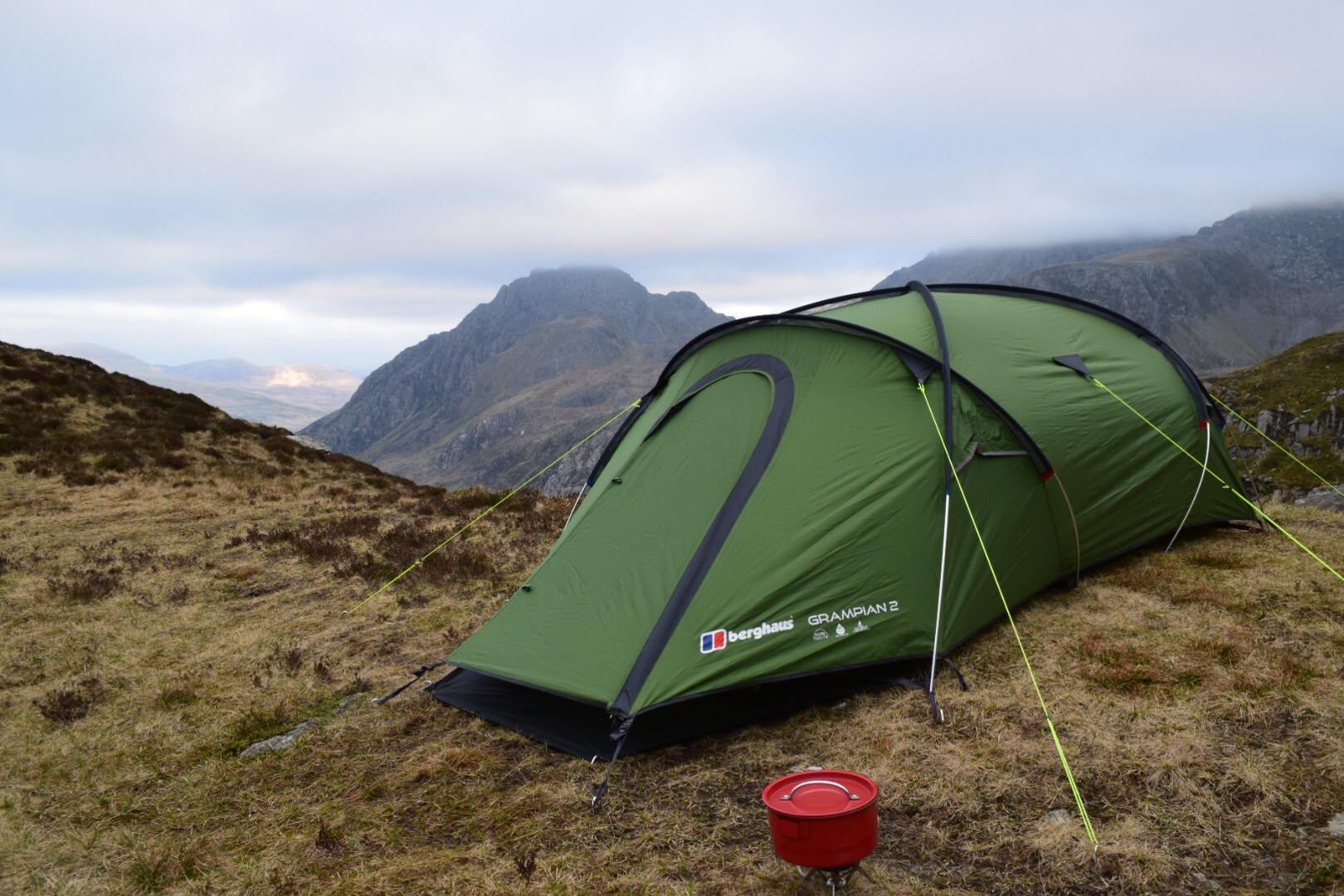 cheaper wholesale outlet low price New Green Berghaus Cairngorm 2 Man Festival Tent Camping ...