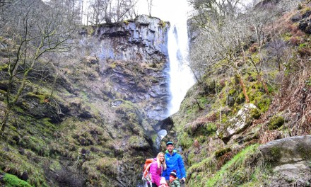 Pistyll Rhaeadr Waterfall Walk