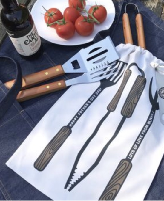 Personalised BBQ tools