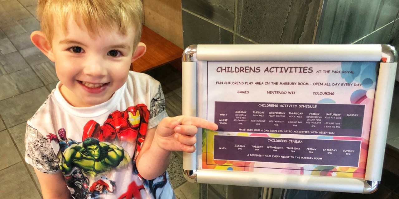 The Park Royal Hotel – Where Kids Come First