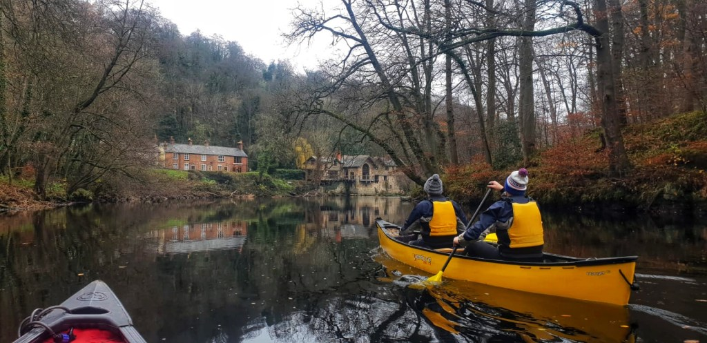 canoeing and bushcraft stag do