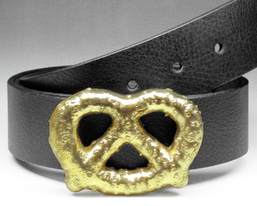Brass Pretzel Buckle