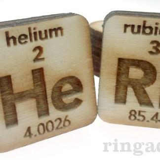Laser Engraved Periodic Rings