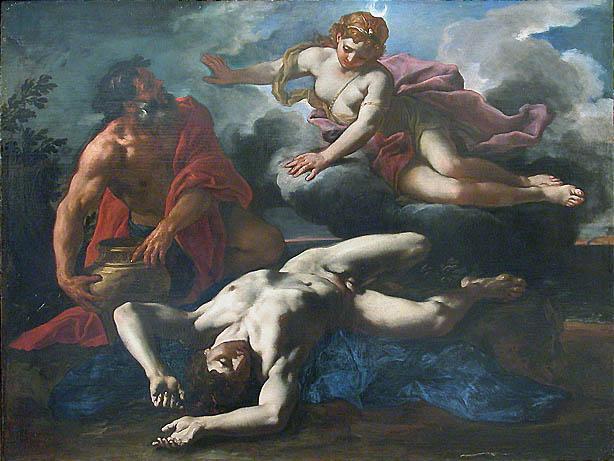 Artemis-e-Orion-Morto - A Lenda do signo de Escorpião