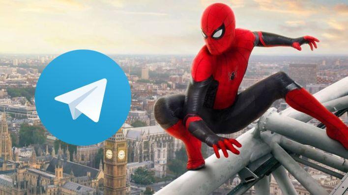 Homem Aranha Longe de Casa Telegram