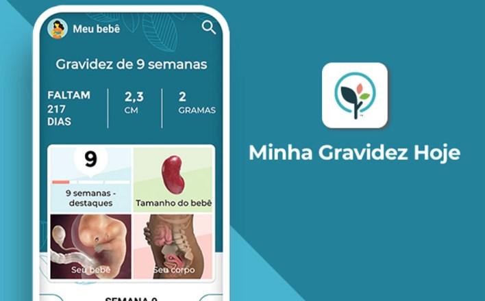Acompanhe sua gravidez pelo App