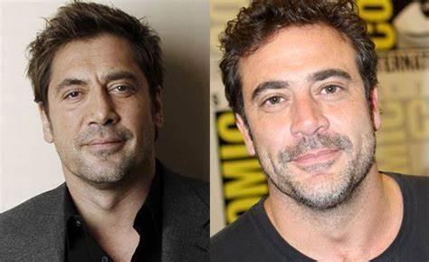 famosos parecidos (Javier Bardem - Jeffrey Dean Morgan)