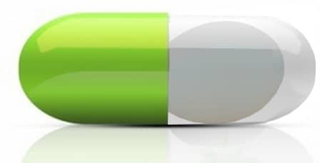 gélule symbolisant les vitamines de l'oeuf de cane