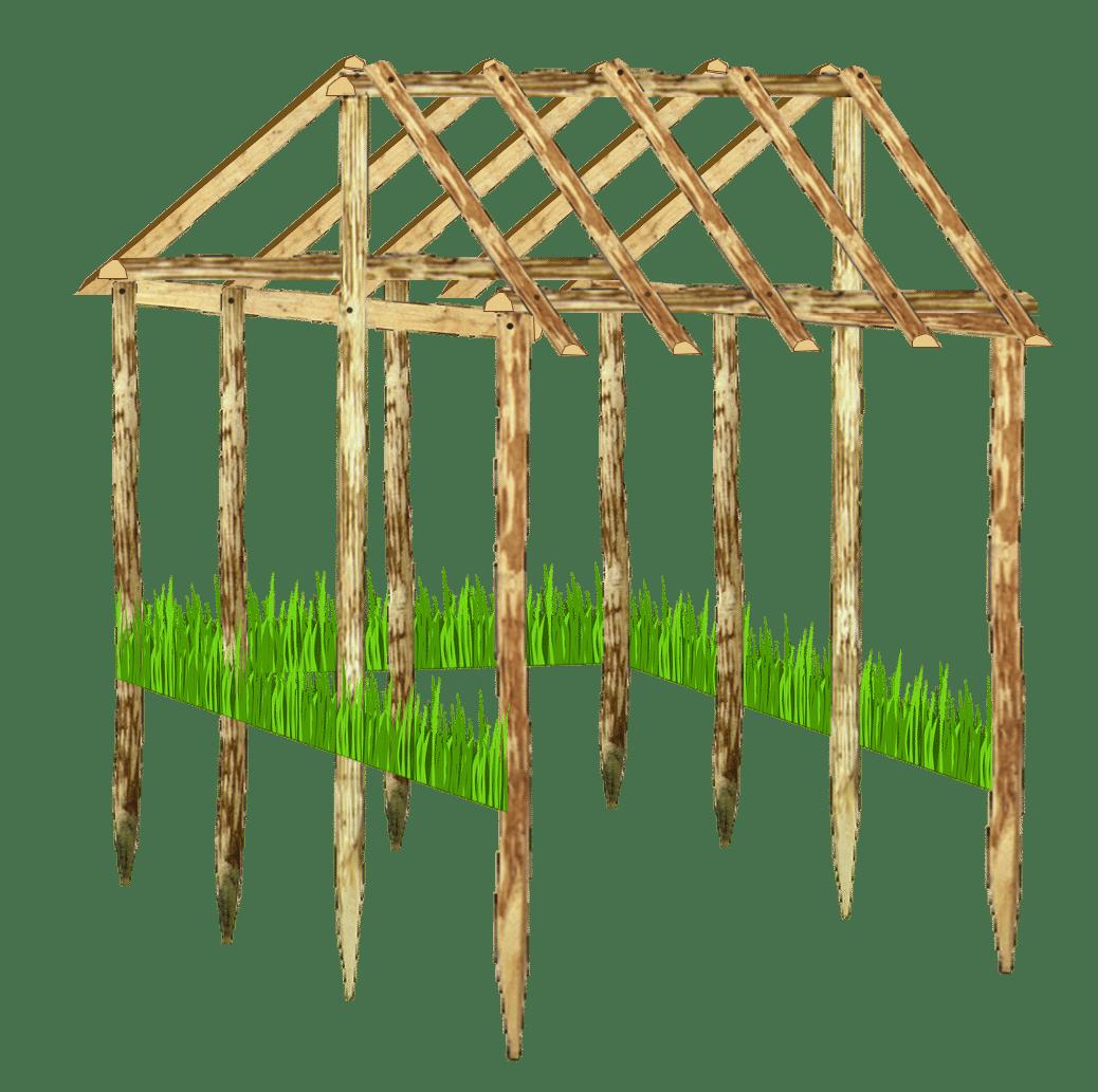 Faire une cabane pour les dindes et dindons poulailler bio for Plan pour