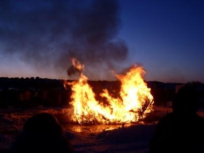 2015 Long John Jamboree - Final stages of the burn