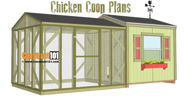 Garden Shed Chicken Coop