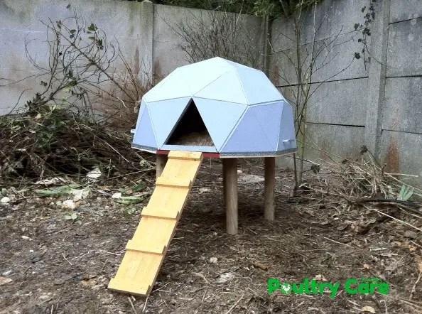 Geodesic Dome Chicken House