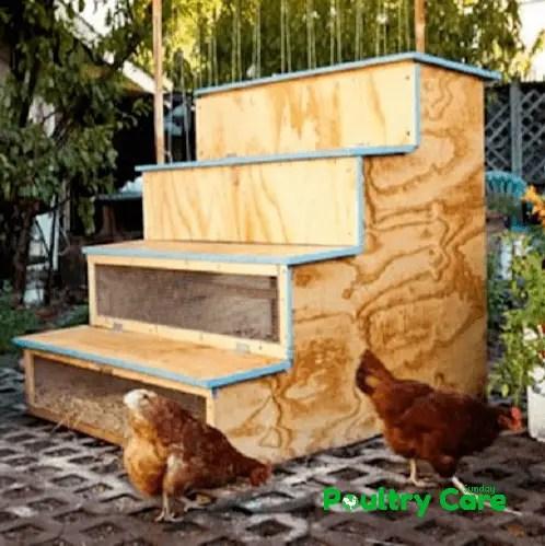 Stoop Chicken Coop