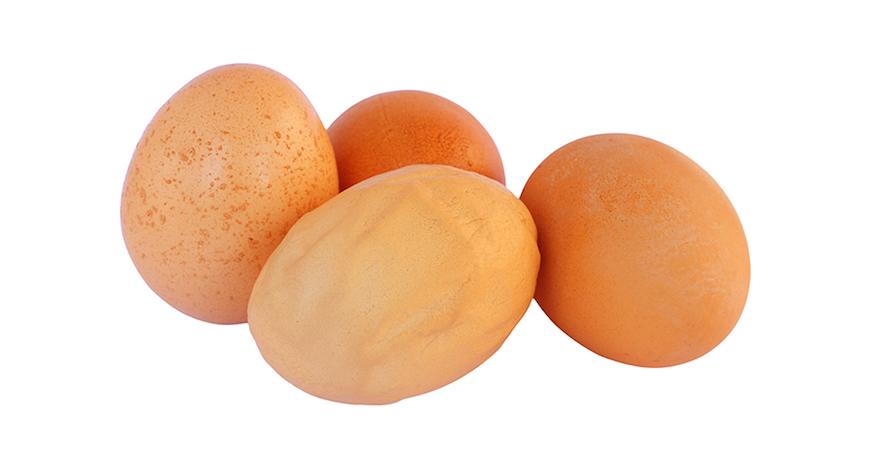weird chicken eggs
