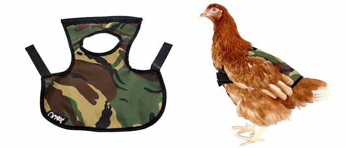 Camouflage Poultry Saddle