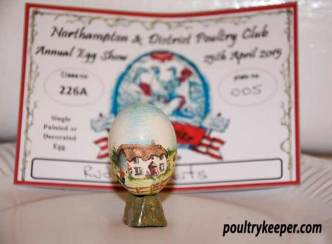 Best Single Decorated Egg
