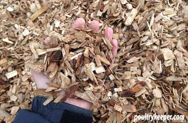 Hardwood Chippings