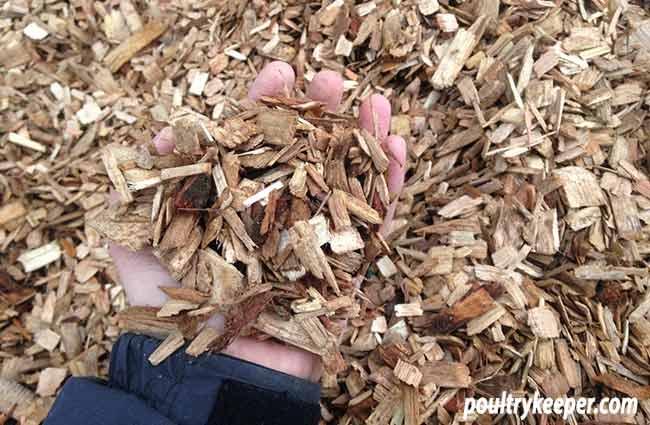 Hardwood Chippings