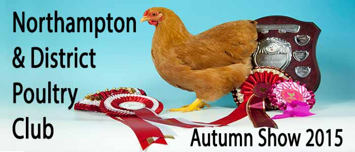 Northampton Poultry Club Autumn Show 2015
