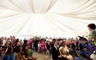 civil-ceremony-terrace-marquee-poundon-house
