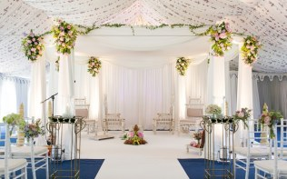 Asian-Wedding-Ceremony-Mandap-Marquee-Poundon-House-04
