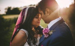 Wedding-Couple-Garden-Evening