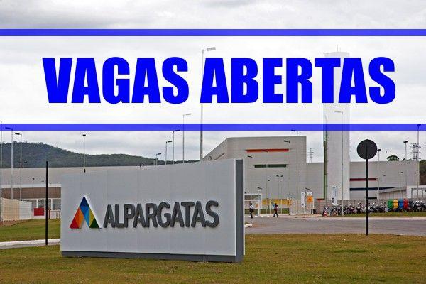 Alpargatas anuncia abertura de vagas, confira!