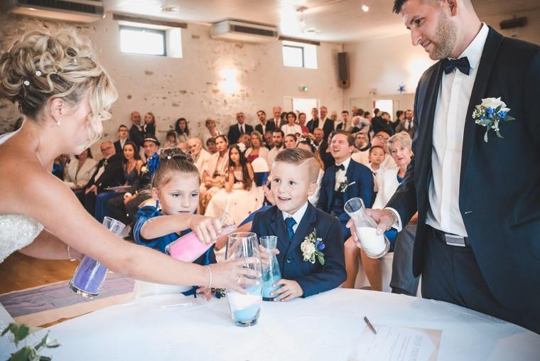 cérémonie en famille