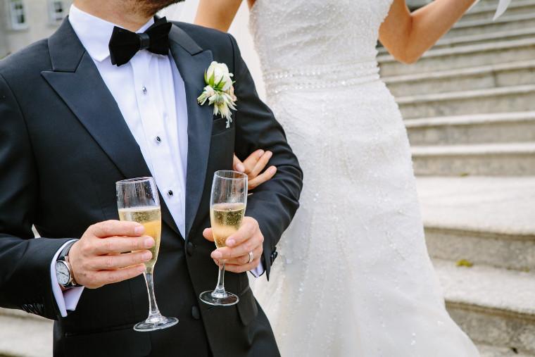 sortie des-mariés