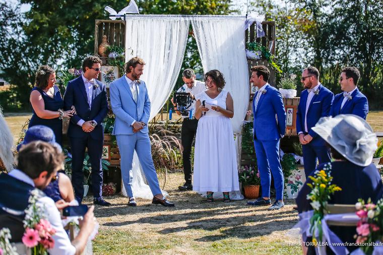 La cérémonie de Luigi et Antonin