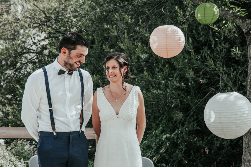 mariage champêtre cérémonie