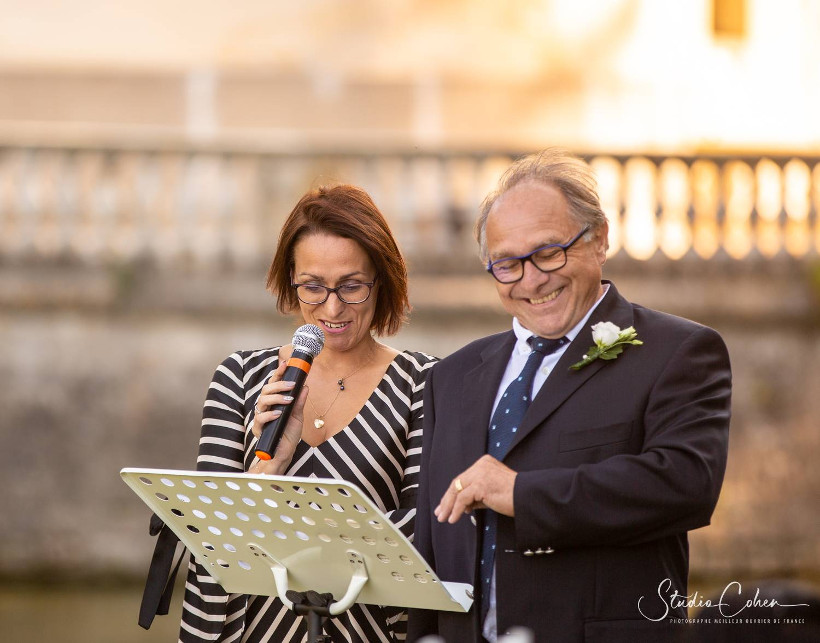 mariage laïque château d'ermenonville