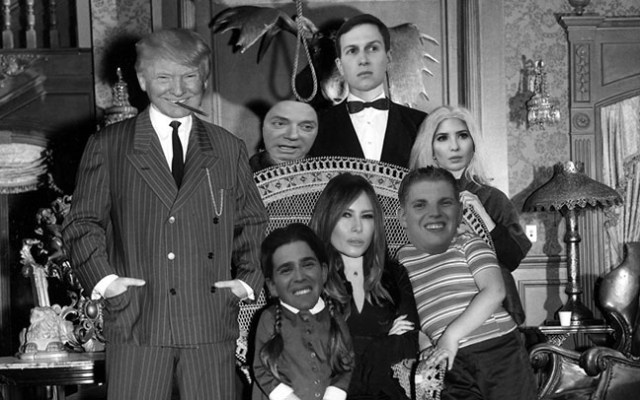 I found Paul Manafort in this old Trump family photo… don ...