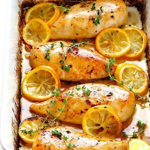 Lemony Chicken