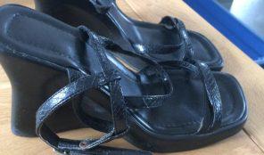 sandales a talon compense pointure 35