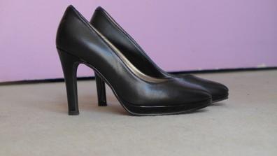 Escarpins noirs cuir pointure 32.5 – 33