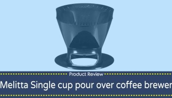 Melitta Single Cup Pour Over Coffee Maker