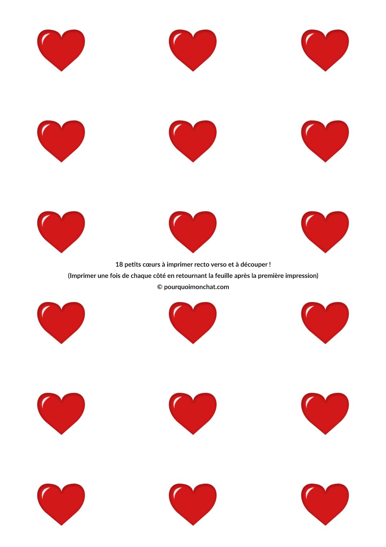 Petits Coeurs Dcouper Pour La Saint Valentin DIY
