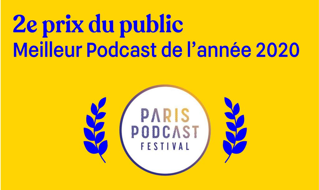 paris podcast festival award blog