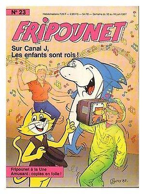 Fripounet 1987, N°23 Sur canal J, les enfants sont rois !